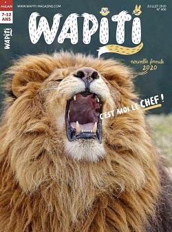 1 numéro du magazine <br>Wapiti offert