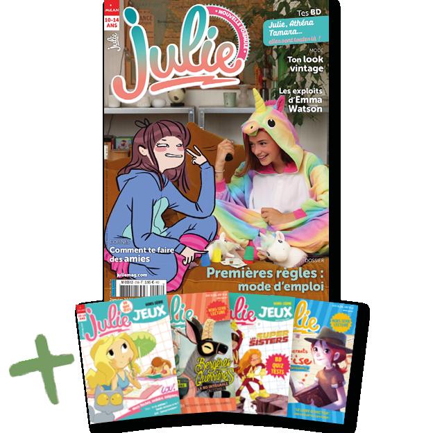 Julie Maxi Lecture et Jeux