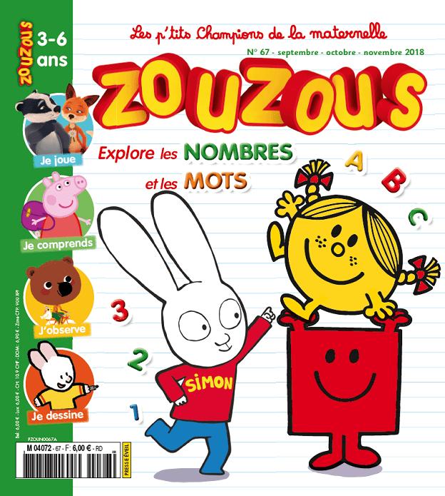 Zouzous + Toupie Jeux des sciences