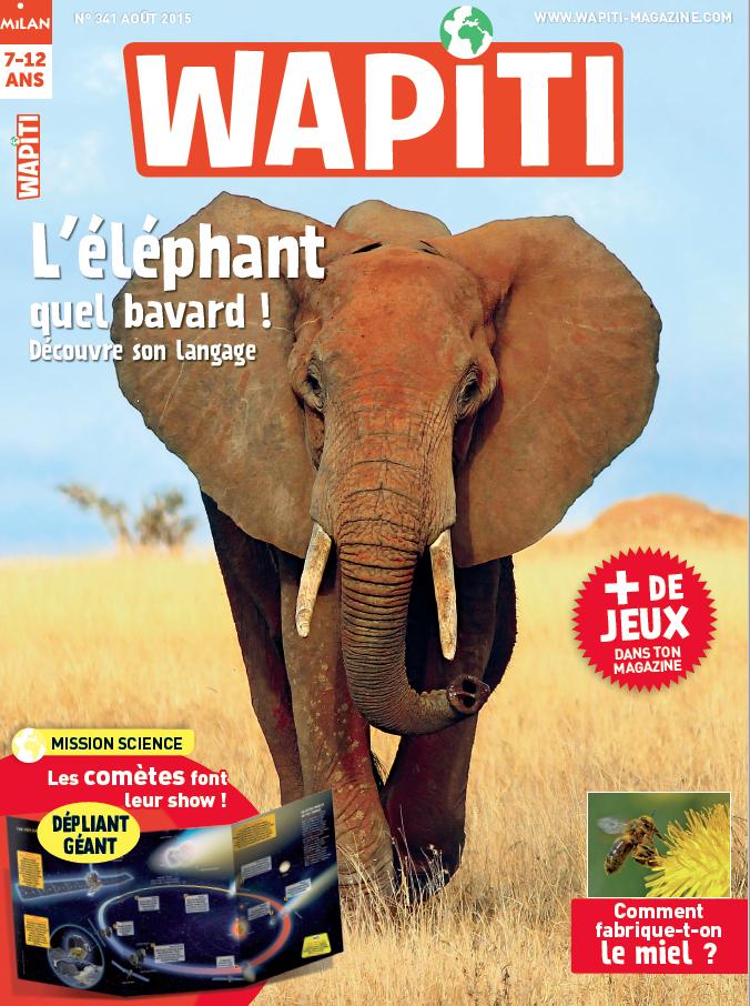 Avec votre ABONNEMENT, 2 mois OFFERTS au magazine Wapiti !