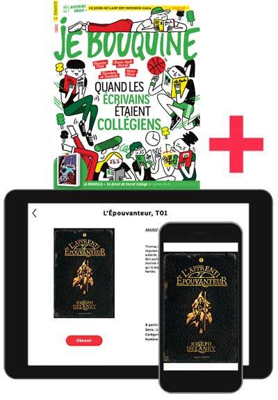 JeBouquine+ le roman numérique L'Épouvanteur T.1