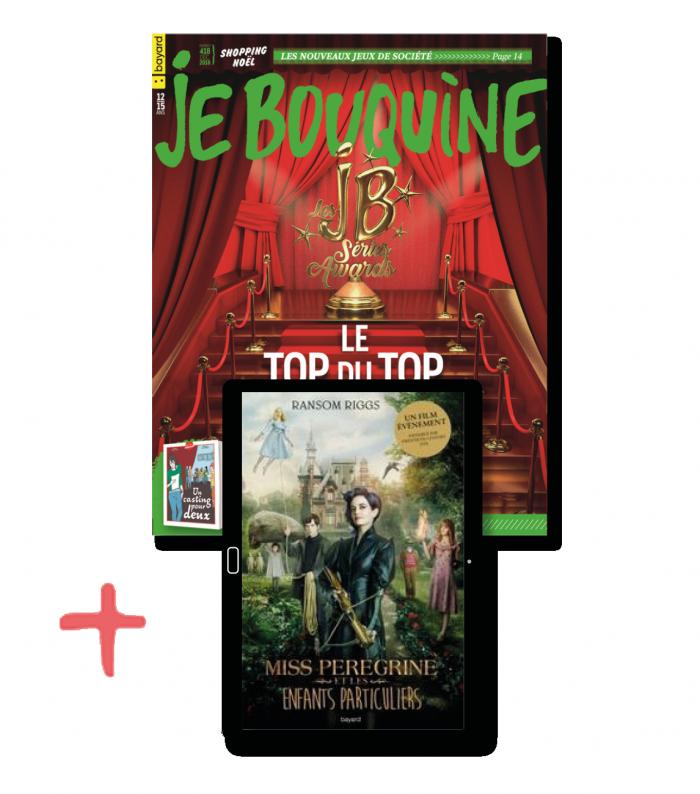 JeBouquine+ le roman numérique Miss Peregrine T.1