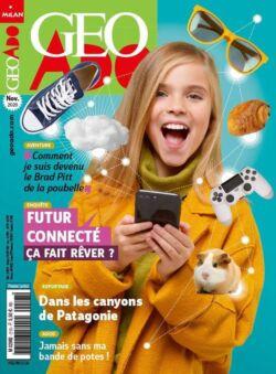 1 numéro du magazine <br>Géo Ado offert
