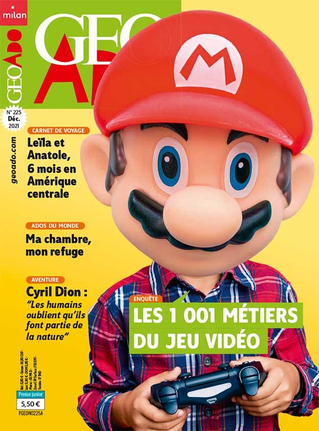 Couverture du magazine GEO Ado